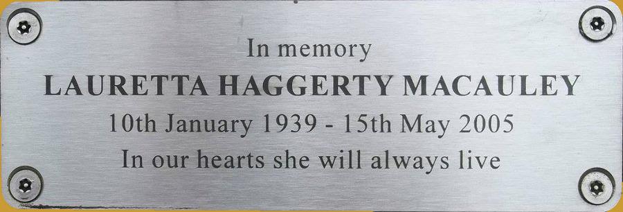 Lauretta Haggerty MacAuley