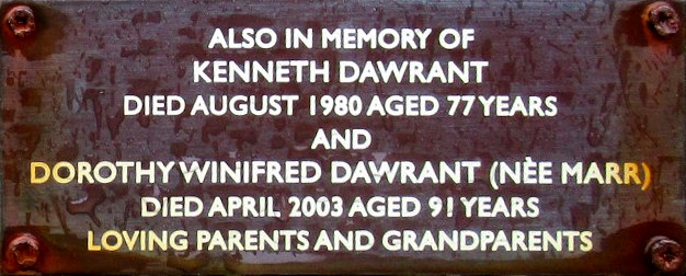 Kenneth and Dorothy Dawrant