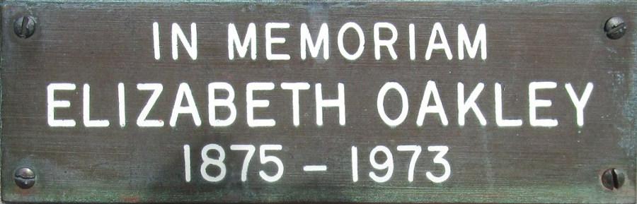Elizabeth Oakley