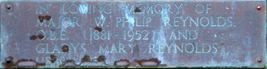 W. Philip and Gladys Mary Reynolds