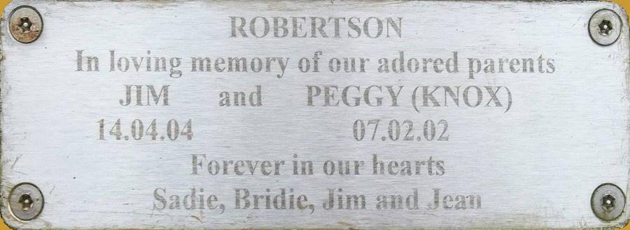 Jim and Peggy Robertson