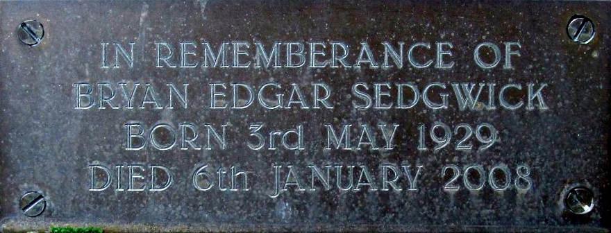 Bryan Edgar Sedgwick