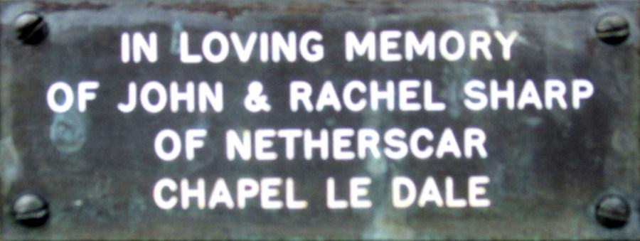 John and Rachel Sharp
