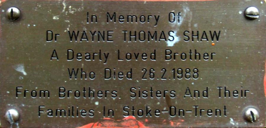 Wayne Thomas Shaw