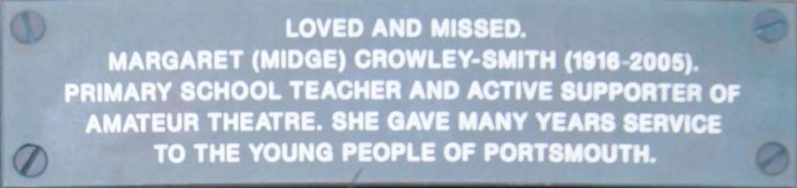 Margaret Crowley-Smith