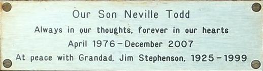 Neville Todd and Jim Stephenson