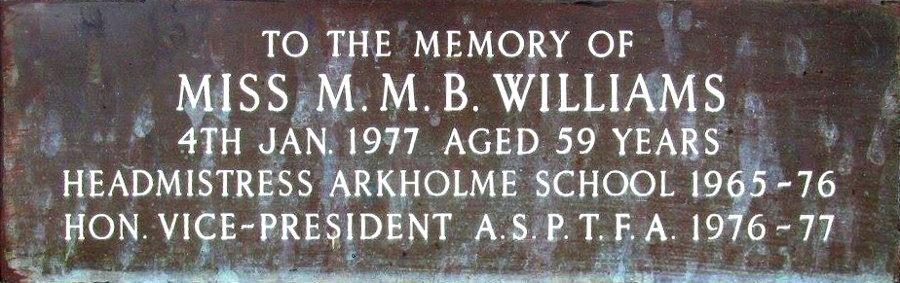 M. M. B. Williams