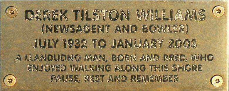 Derek Tilston Williams