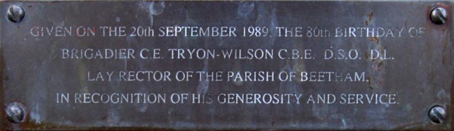 C. E. Tryon-Wilson