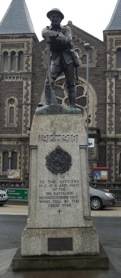 War Memorial - Abergavenny, Monmouthshire, Wales
