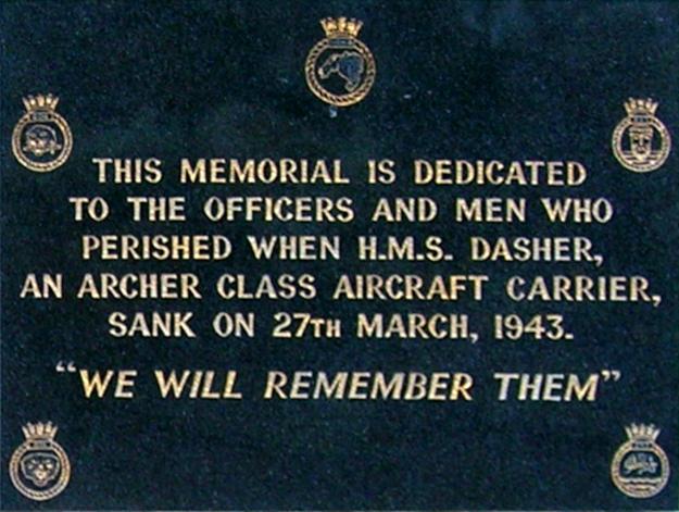 Panel H. M. S. Dasher