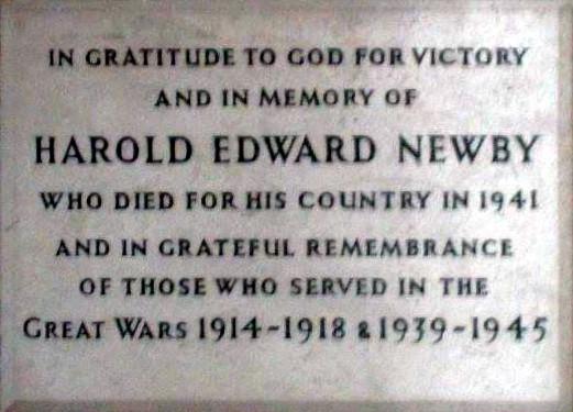 Harold Edward Newby