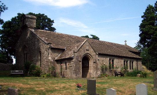 St. John's Church, Srkholme, Lancashire, England
