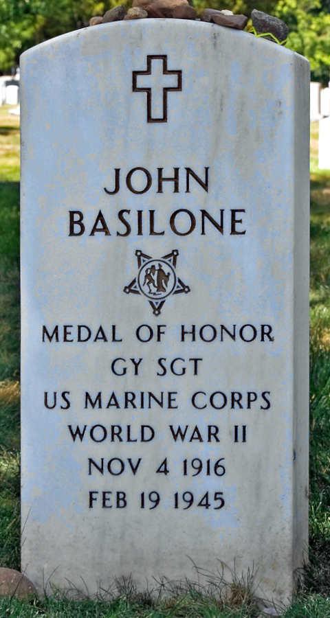 Grave John Basilone
