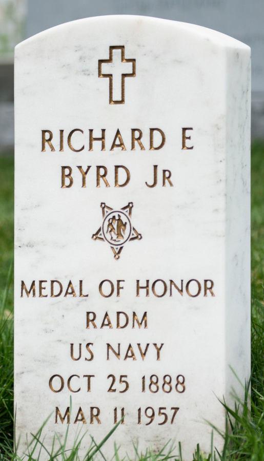 Grave Richard Evelyn Byrd jr.