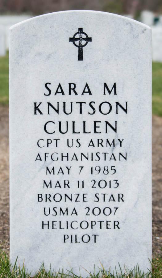 Grave Sara M. Knutson Cullen