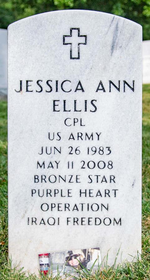 Grave Jessica Ann Ellis