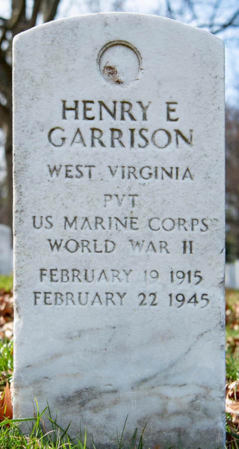 Grave Henry Estel Garrison