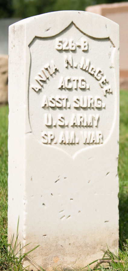 Grave Anita N. McGee
