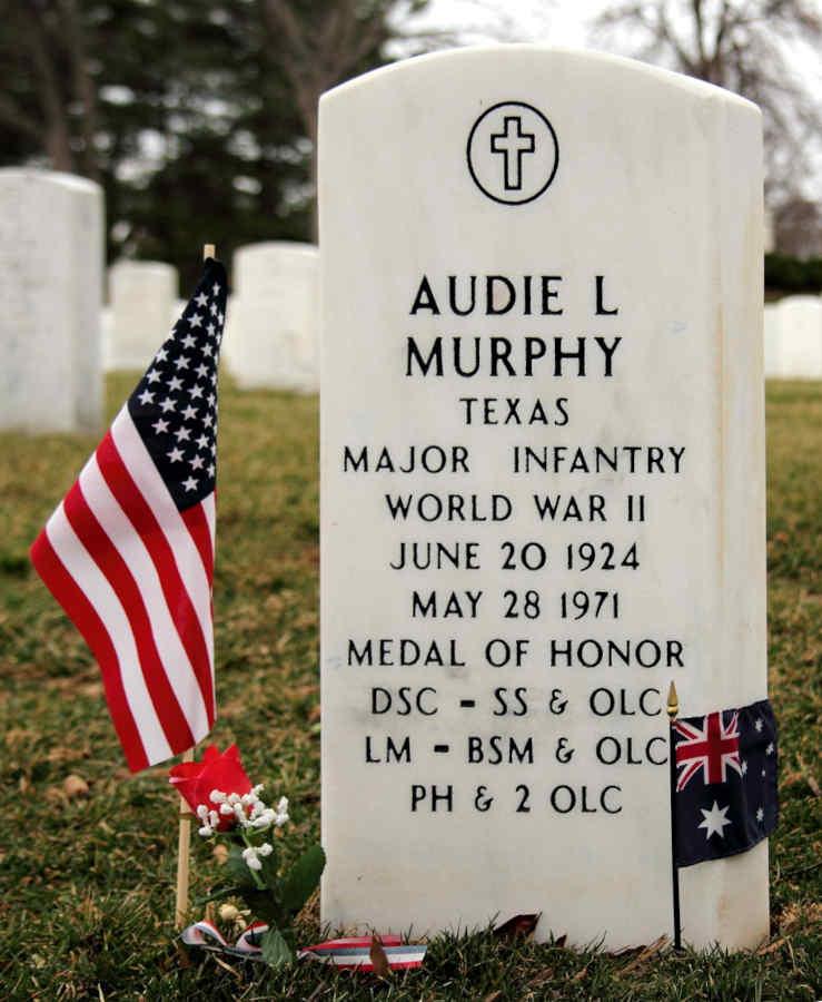 Grave Audie L. Murphy