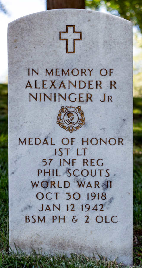 Grave Alexander R. Nininger Jr.