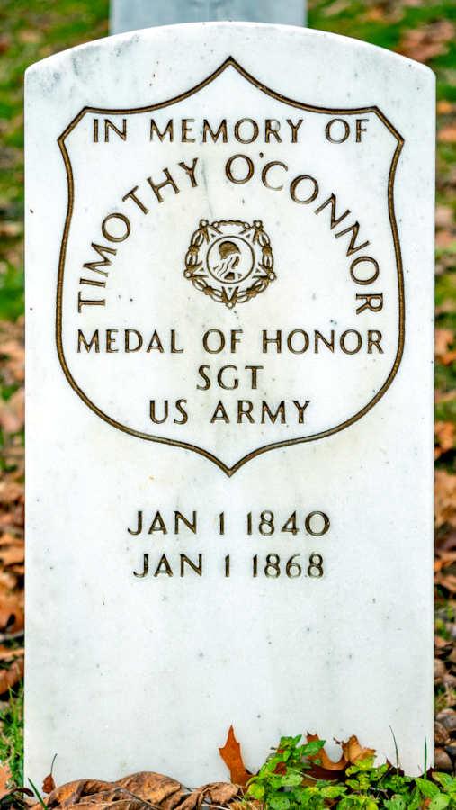 Grave Timothy O'Connor