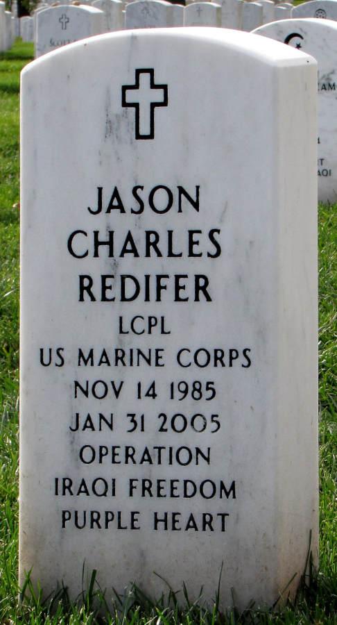 Grave Jason Charles Redifer