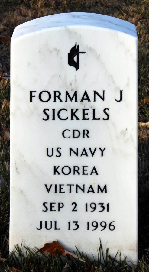 Grave Forman J. Sickels