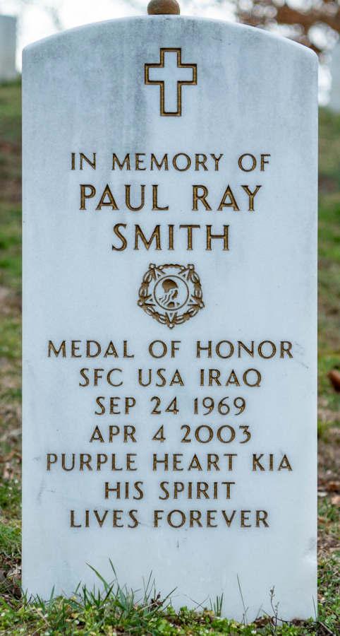 Grave Paul Ray Smith