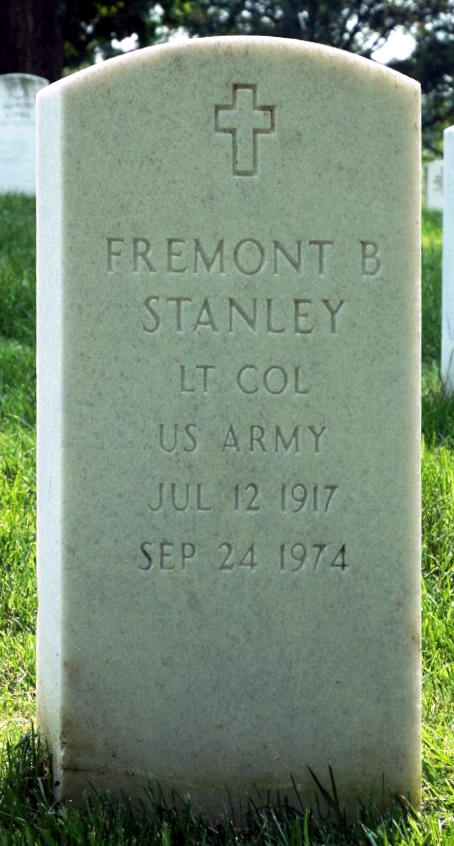 Grave Fremont B. Stanley