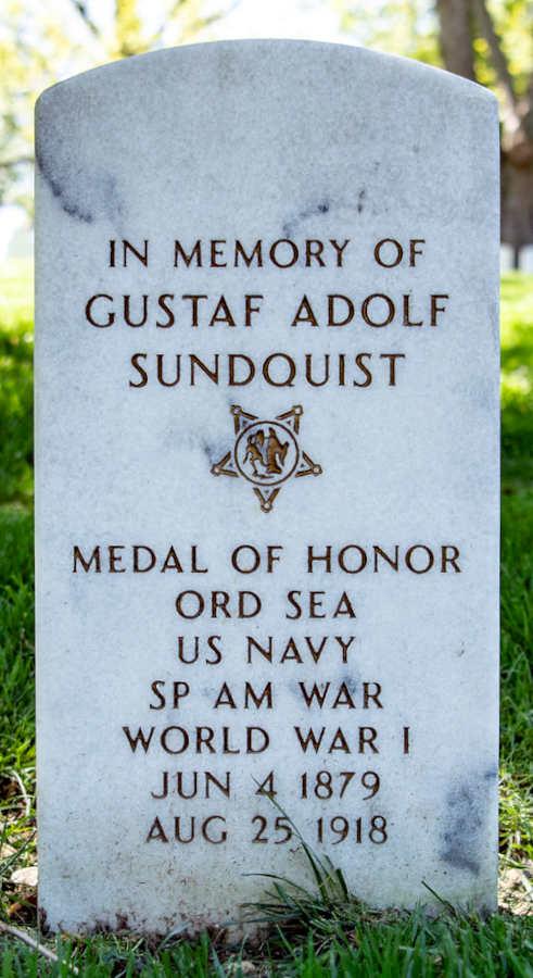 Grave Gustav Adolf Sundquist