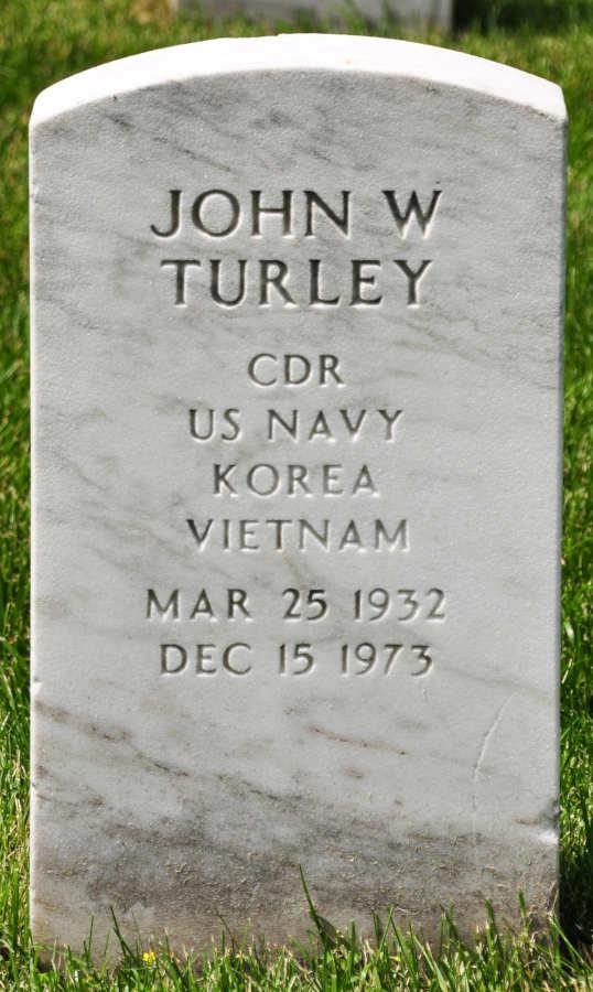 Grave John W. Turley