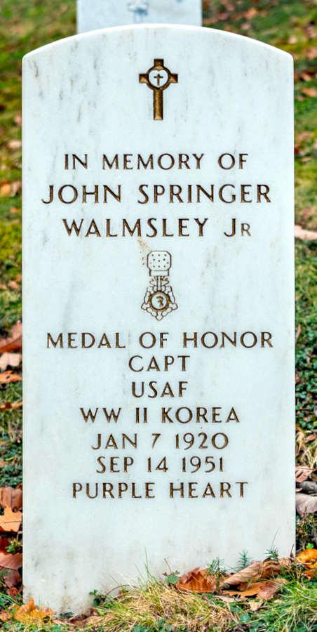 Grave John Springer Walmsley Jr.