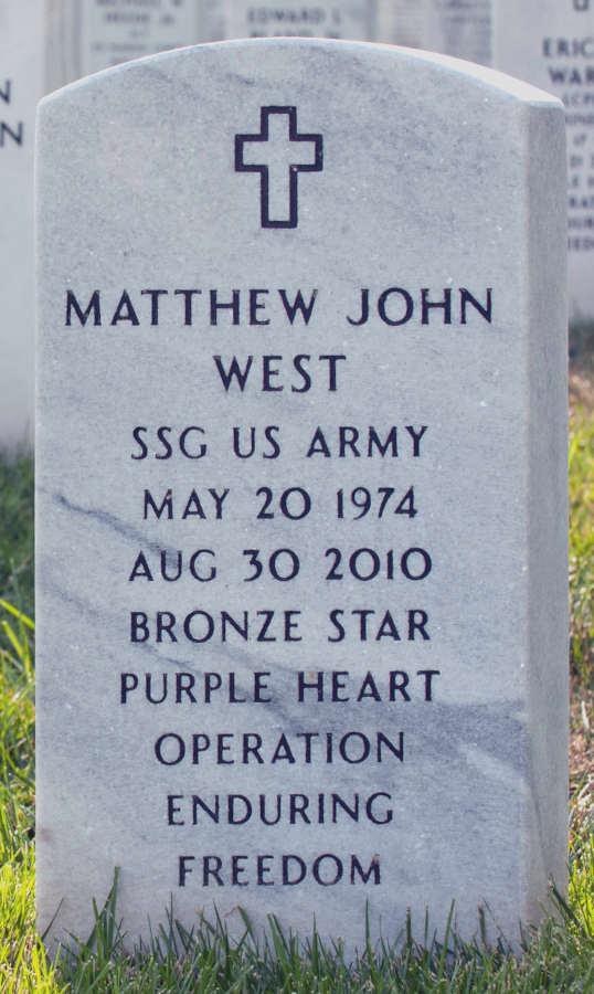Grave Matthew John West