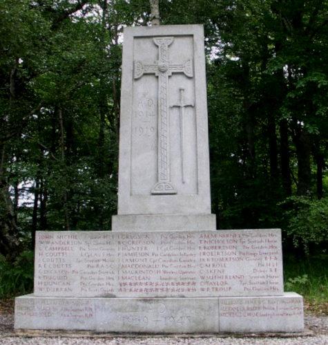 War Memorial - Balmoral, Aberdeenshire, Scotland