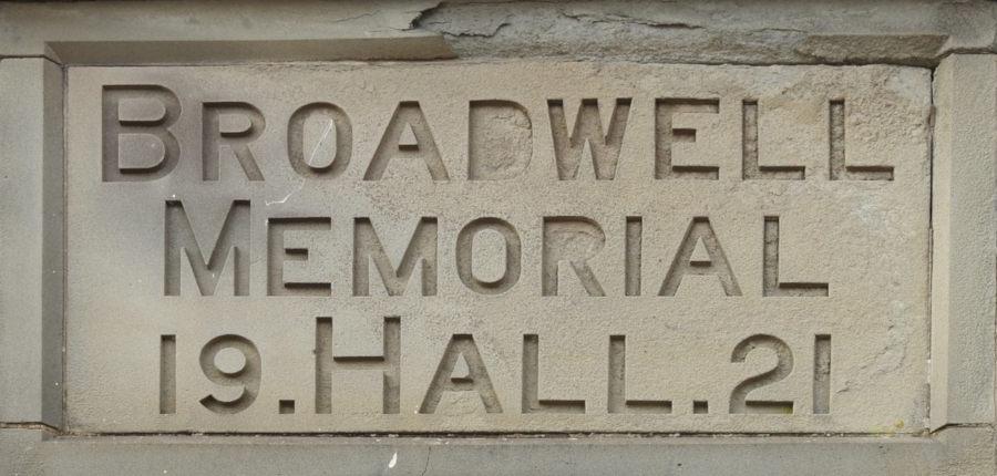 Panel Memorial Hall