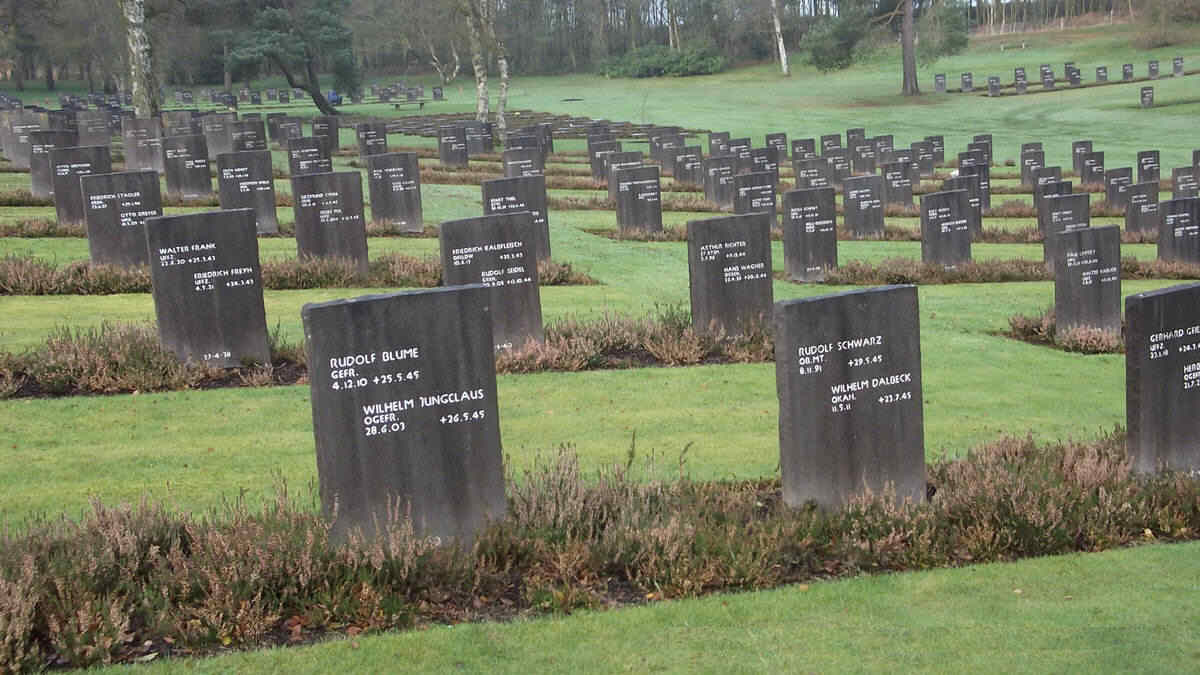German Military Cemetery - Cannock Chase, Staffordshire, England