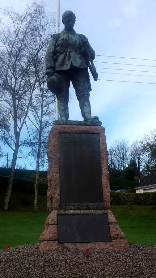 War Memorial - Canonbie, Dumfries and Galloway, Scotland