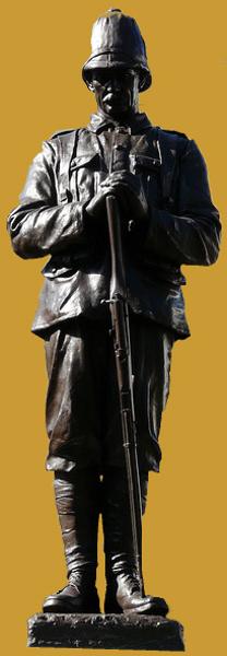 Boer War Memorial - Statue