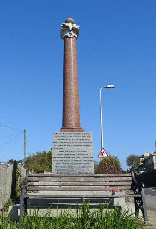 War Memorial - Clevedon, Somerset, England