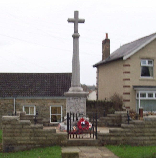 War Memorial - Cockfield, Co. Durham, England