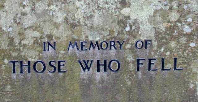 War Memorial - Crook of Devon, Perth and Kinross, Scotland