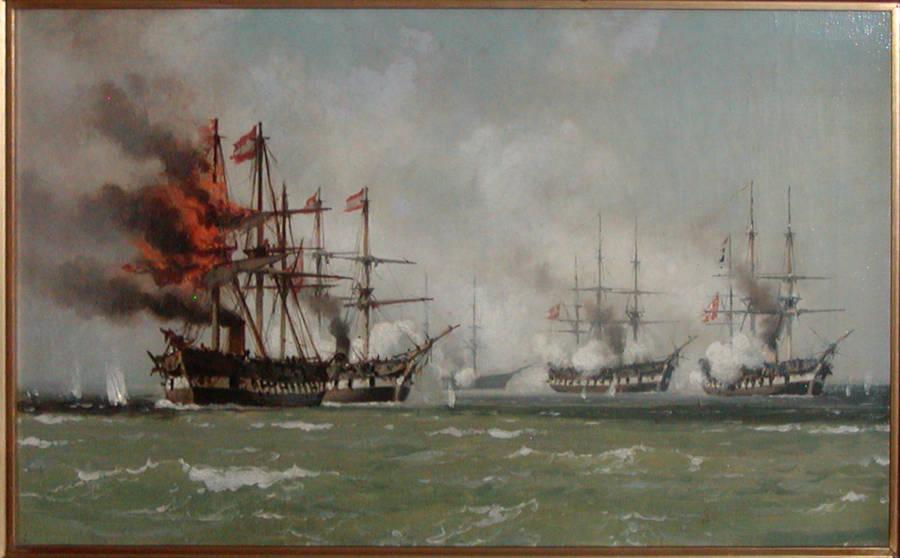 Steam Frigate Schwartzenberg