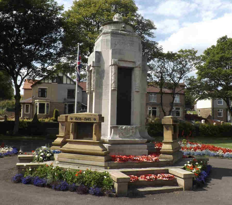 War Memorial - Earby, Lancashire, England