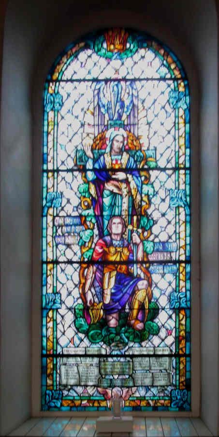 Eccles-Church window
