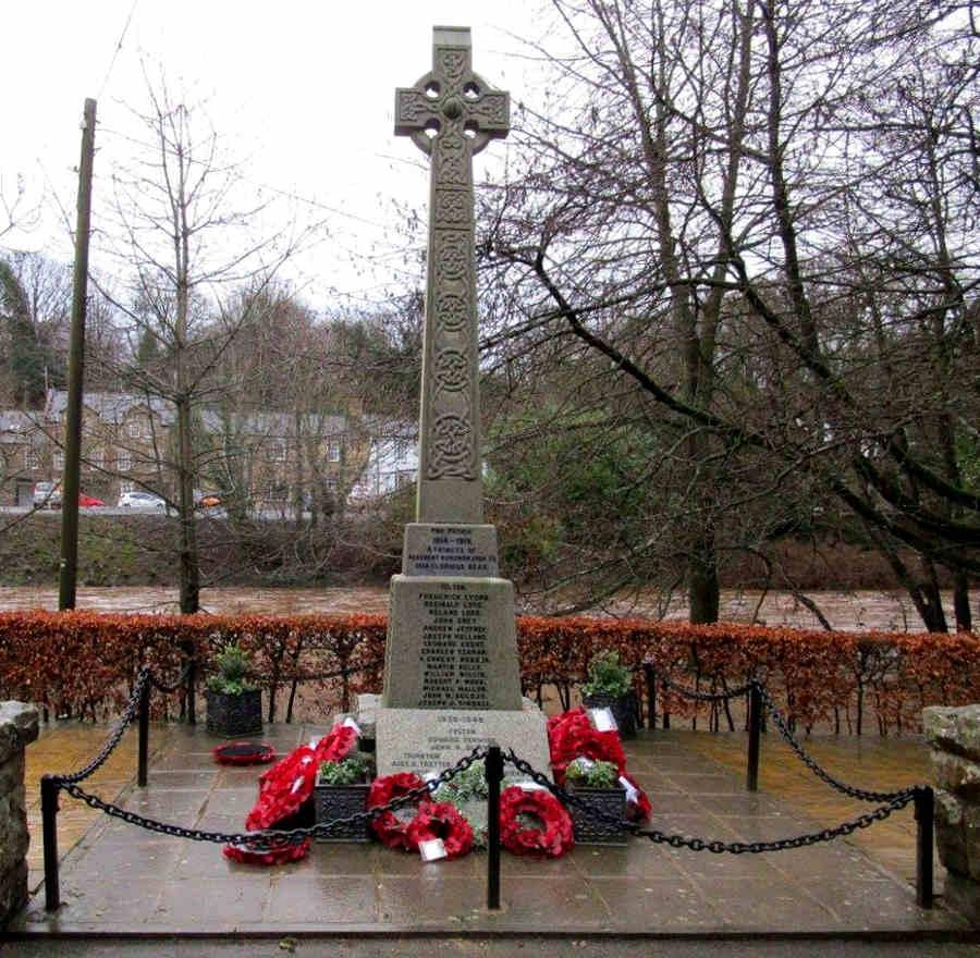 War Memorial - Felton, Northumberland, England