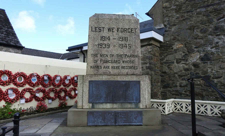 War Memorial - Fishguard, Pembrokeshire, Wales
