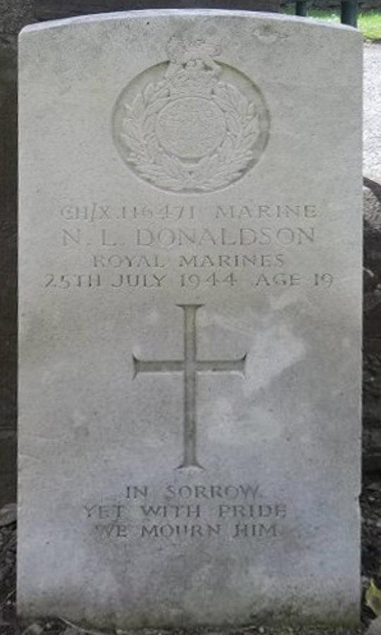 War grave - Norman L. Donaldson