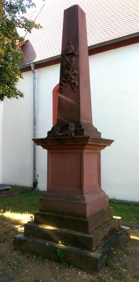 War Memorial 1848, 1866 and 1870/71