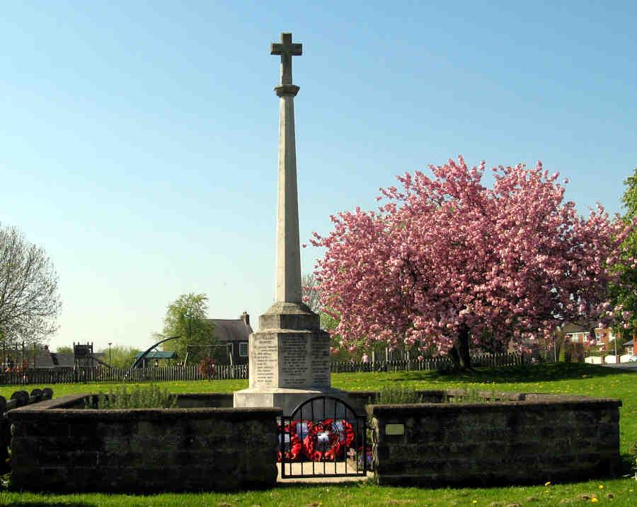 War Memorial - Hutton Cranswick, East Riding of Yorkshire, England